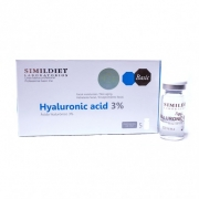 Fiole cu acid hialuronic 3 % - 5 x 5 ml. Simildiet